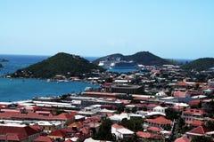 U.s. Jungfruöarna Arkivbild
