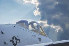 U.S. Kampfflugzeug Stockbild