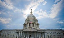 U.S. Kapitol Lizenzfreie Stockfotos