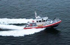 U S Kustbevakning Patrol Boat arkivbilder
