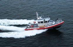 U S Kustbevakning Patrol Boat Arkivfoton