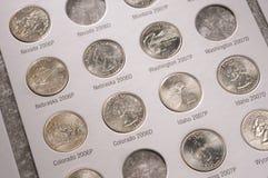 U.S. kwarten inzameling Stock Fotografie