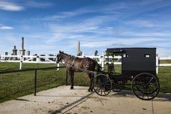 U.S.A. - L'Ohio - Amish fotografia stock libera da diritti