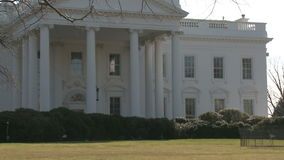 U S La Casa Blanca, enfoca adentro almacen de video