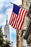 U.S.A. Lage e Empire State Building Fotografia Stock