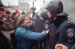 U.S. Le Vice-secrétaire d'État distribue la nourriture sur l'indépendance Photographie stock libre de droits