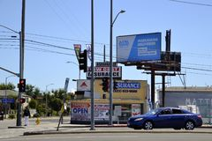 U.S.A., Los Angeles, marijuana Immagini Stock