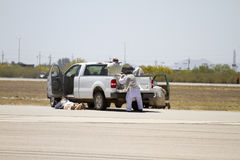 U S Los militares buscan, rescatan, y evacuan al terrorista Training Fotografía de archivo