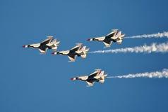 U S Luchtmacht Thunderbirds Stock Afbeeldingen