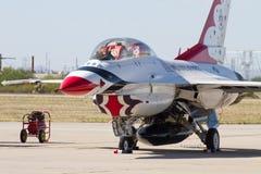 U S Luftwaffen-Flugschau Thunderbirds Lizenzfreie Stockfotos