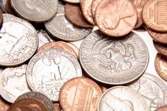 U.S. Münzen Lizenzfreies Stockbild