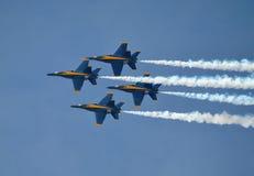 U S Marinblåa änglar Royaltyfri Fotografi