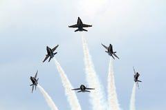 U S Marynarka wojenna Błękitni aniołowie Zdjęcie Royalty Free