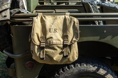 Free U.S Military Bag Stock Image - 133231531