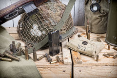 Free U.S. Military Equipment Of World War II Royalty Free Stock Image - 40912476