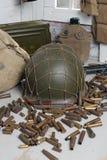 U.S. military equipment of World War II Stock Photos