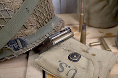 U.S. military equipment of World War II Stock Image