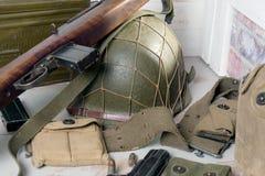 U.S. military equipment of World War II Stock Photo