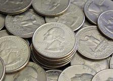 U S monete Immagine Stock