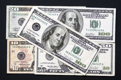 U.S. money Stock Image