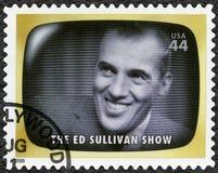 U.S.A. - 2009: mostra Ed Sullivan Show, memoria iniziale della TV fotografia stock