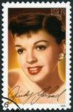 U.S.A. - 2006: mostra a ritratto Judy Garland 1922-1969, Frances Ethel Gumm, leggende di serie di Hollywood Fotografia Stock Libera da Diritti