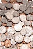 U.S. muntstukken stock foto