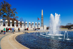 The U.S. National World War II Memorial in Washington DC, USA Royalty Free Stock Images