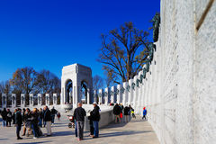 The U.S. National World War II Memorial in Washington DC, USA Royalty Free Stock Image