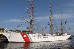 U S Nave alta della guardia costiera, l'aquila Fotografie Stock Libere da Diritti