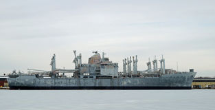 U.S. Navy Attack Cargo Ship USS Mobile Royalty Free Stock Photography