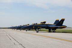 U.S. Navy Blue Angels Stock Image