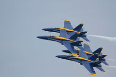U.S. Navy Blue Angels Royalty Free Stock Photos