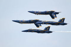 U.S. Navy Blue Angels Stock Photography