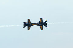 U.S. Navy Blue Angels Royalty Free Stock Photography