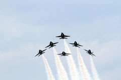U.S. Navy Blue Angels Stock Photo