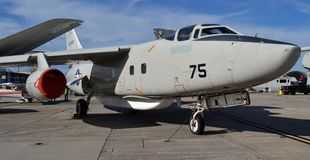 U.S. Navy A-3 A3D Skywarrior Bomber Royalty Free Stock Images