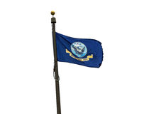 U.S. Navy flag Royalty Free Stock Photo