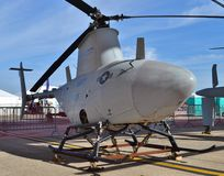 U.S. Navy MQ-8 Fire Scout Helicopter Drone Stock Image