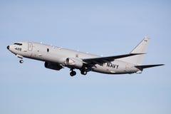 U.S. Navy P-8A Poseidon royalty free stock image