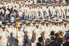 U.S. Navy parade in Annapolis, MD Stock Image