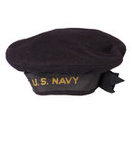 U. S. Navy Sailor's Hat. Standard issue World War Two United States Navy Sailor's cap Stock Photography