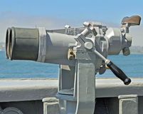 U.S. Navy Ship Binoculars Royalty Free Stock Image