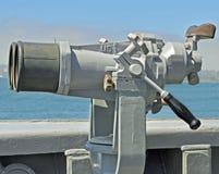 U.S. Navy Ship Binoculars. The Ship Binoculars on a U.S. Navy Warship Royalty Free Stock Image