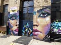 U.S.A. New York brooklyn brooklyn Bushwick immagini stock