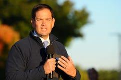 U S O senador Marco Rubio, republicano de Florida, fala em Bedford, New Hampshire o 6 de outubro de 2015 Fotos de Stock Royalty Free