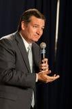 U.S. O senador Ted Cruz, R-Texas, fala em Manchester, New Hampshire Fotografia de Stock Royalty Free