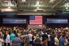 U S Obiecujący Prezydenci Bernie Sanders wiec zdjęcia royalty free