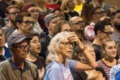 U S Obiecujący Prezydenci Bernie Sanders wiec obraz royalty free