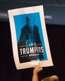 U S Obiecujący Prezydenci Bernie Sanders wiec fotografia stock